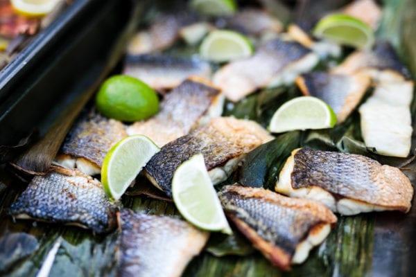 Gegrillter Fisch BBQ Catering und Private Grilling Mallorca